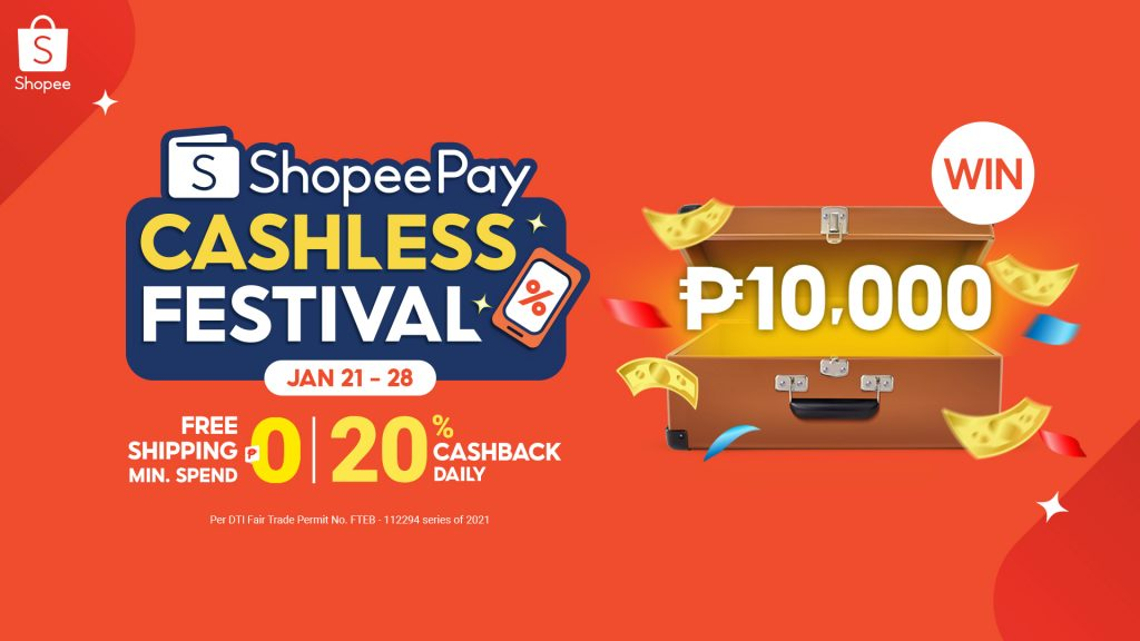 8 Deals to Watch Out For at the 1st ShopeePay Cashless Festival