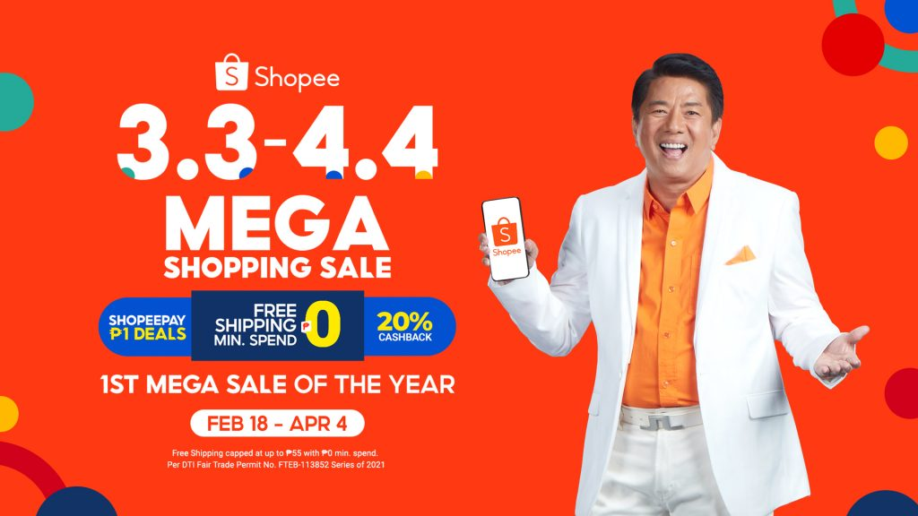 Shopee Kicks Off 3.3 – 4.4  Sale with New Ambassador