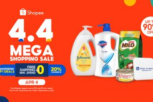 Shopee 4.4 Mega Shopping Sale: Stock Up on These Home Essentials
