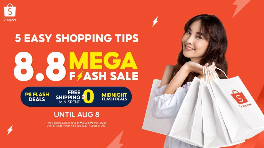 Shopee 8.8 Mega Flash Sale: 5 Smart Shopping Tips to Bag Great Deals