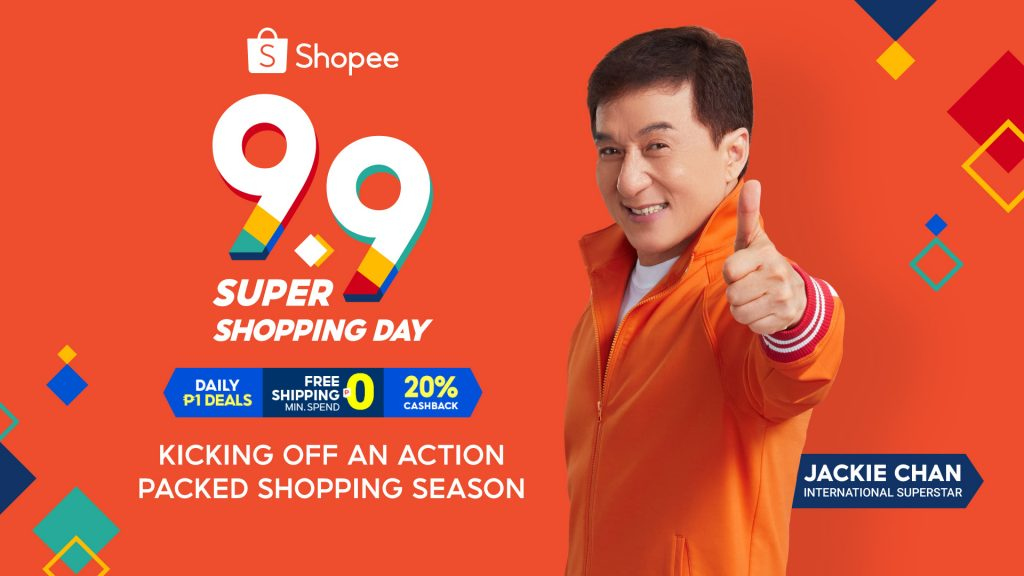 Jackie Chan Joins Shopee in Time for 9.9 Super Shopping Day