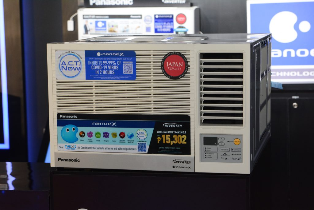 Panasonic Launches Inverter Air Conditioner with Technology vs COVID-19