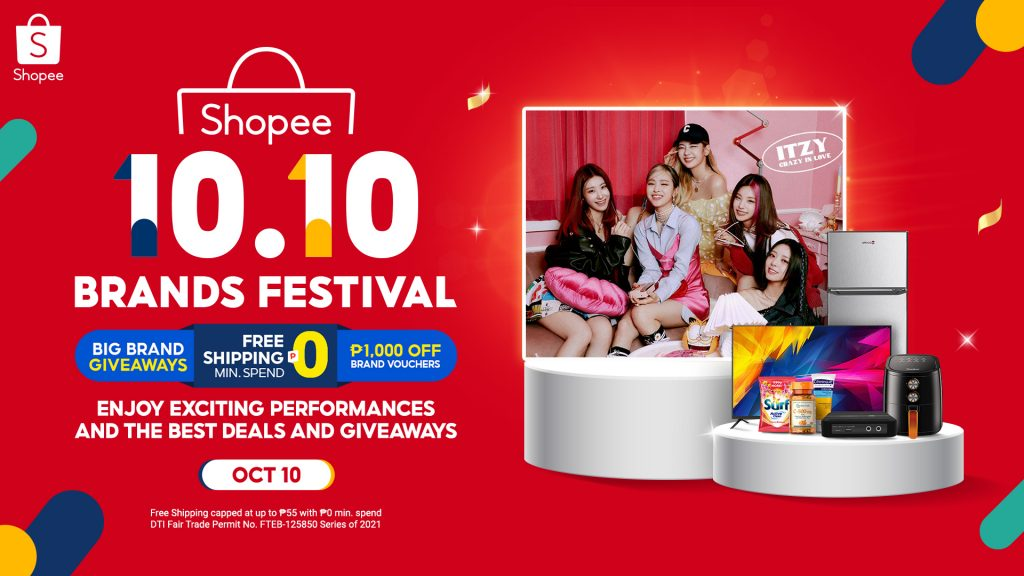 10 Exciting Things to Look Forward to at Shopee's 10.10 Brands Festival