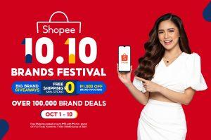 Kim Chui Joins Shopee as Brand Ambassador for 10.10 Brands Festival