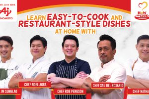 Ajinomoto Collaborates with Top Chefs for Easy-to-cook Restaurant Style Dishes at Home