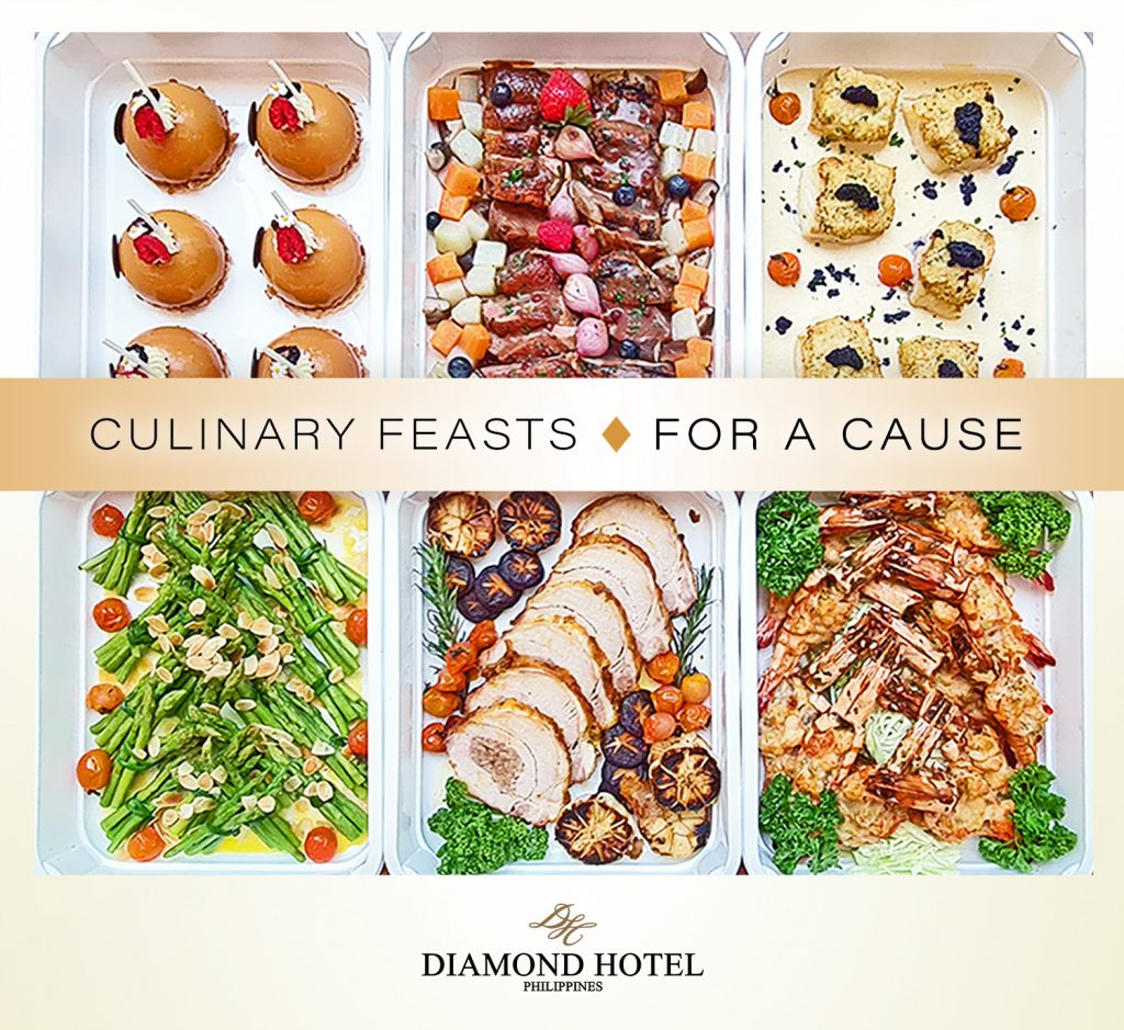 Delightful Culinary Feasts by Diamond Hotel Philippines Let Employees Keep their Jobs