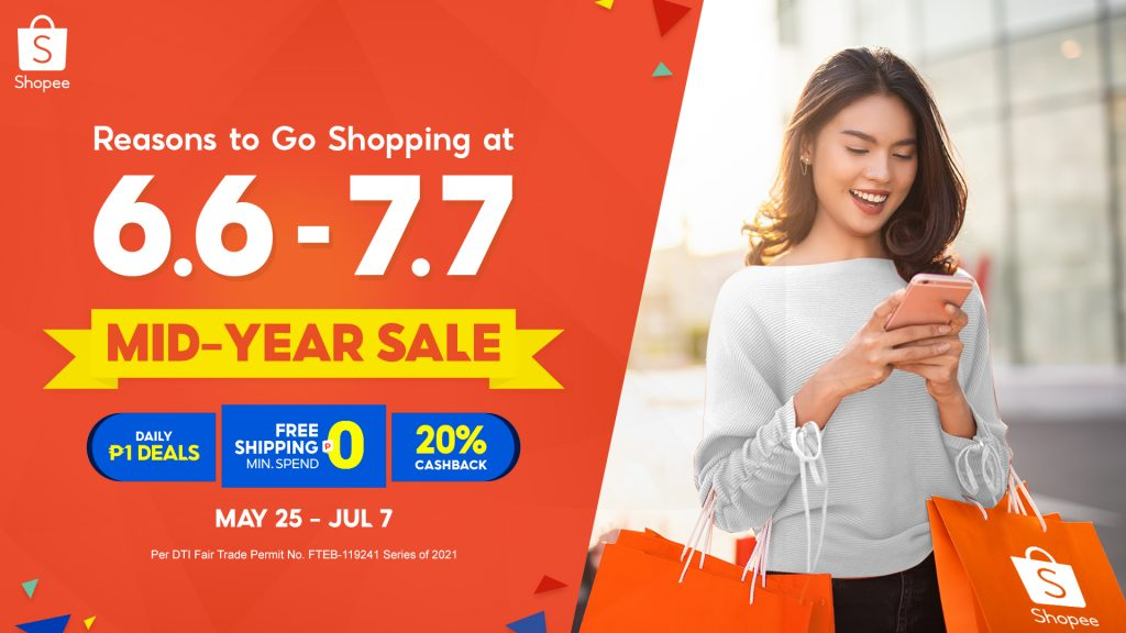 Shopee's Mid-Year Sale: Six Reasons to Indulge in a Shopping Spree